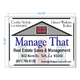 Manage That Real Estate Sales & Management
