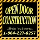 Open Door Construction